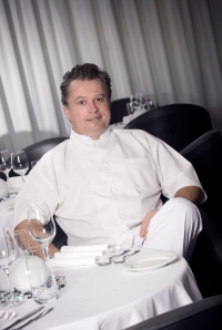 Chef Jose Martinez in Maison Blanche